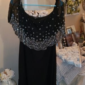 beaded dress top sexy classy great to dress up.